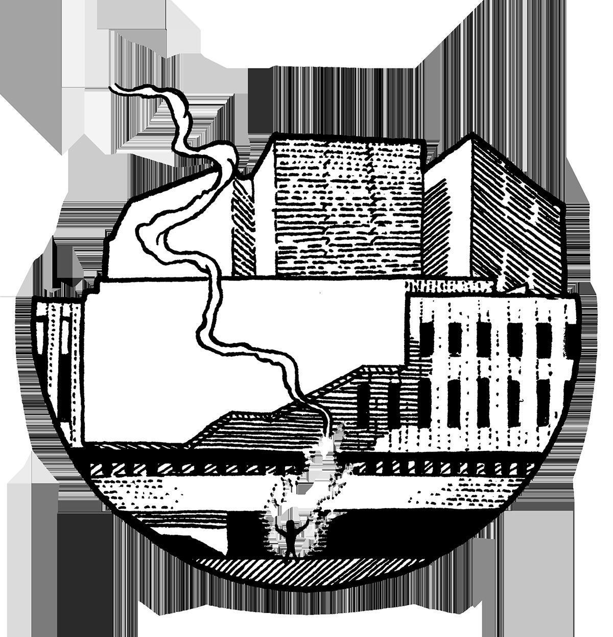 Kuvitus: Jussi Pohjanen.