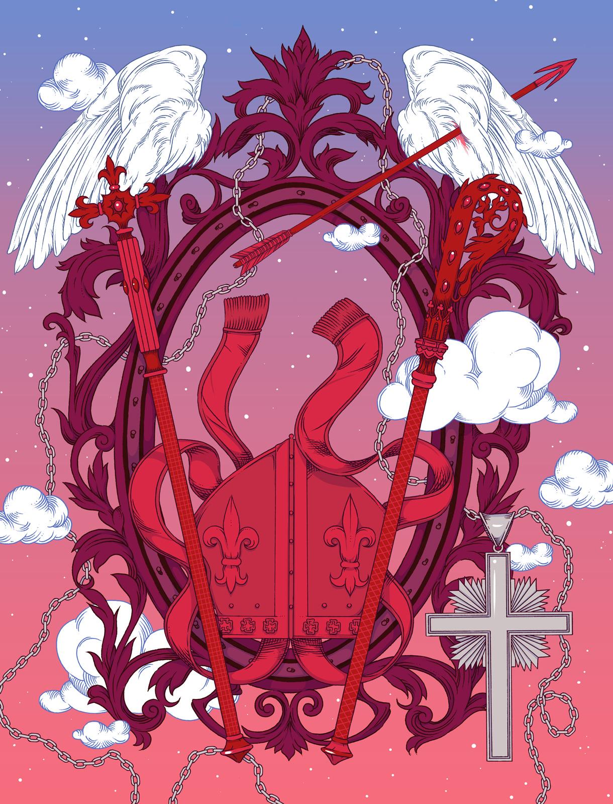 Kuvitus: Milena Huhta.