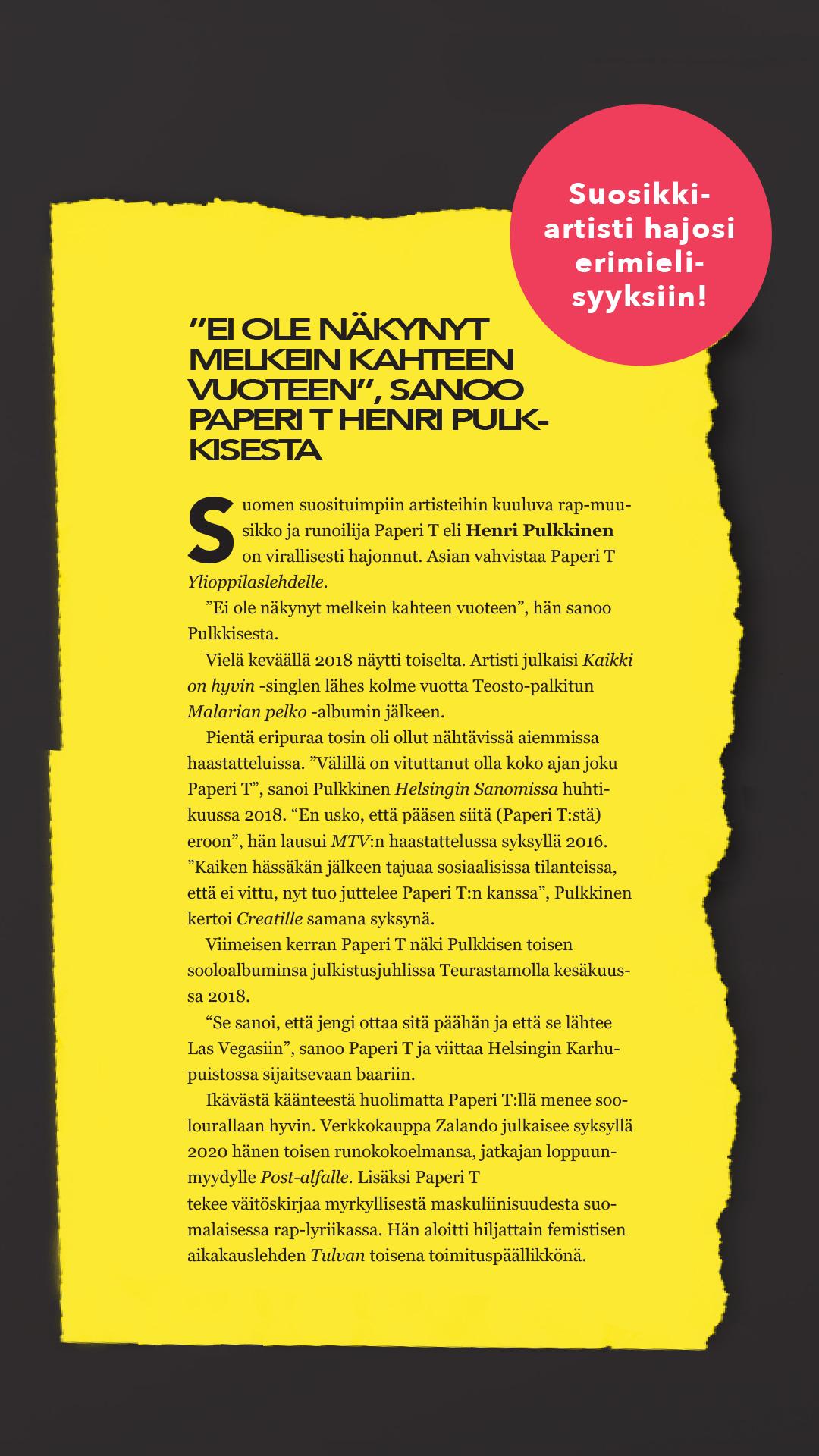 Kuvitus: Tuomas Järvenpää.